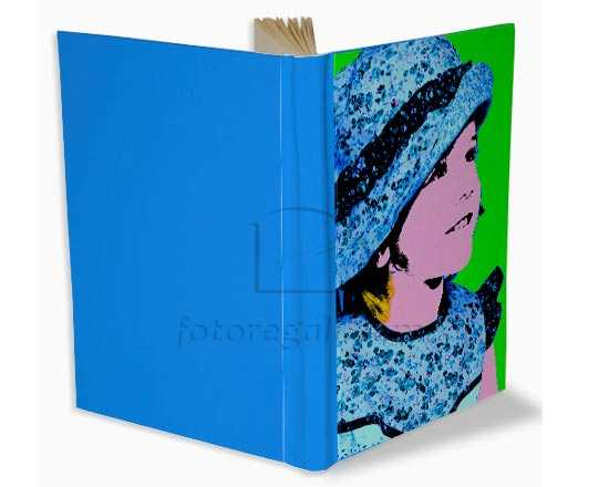 grafica pop art su album