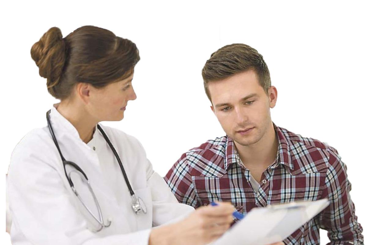 visita medica paziente