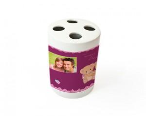 portaspazzolini in ceramica stampato