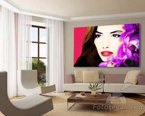 Tela personalizzata in stile pop art per San Valentino