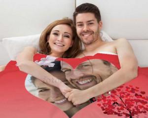 coperta love personalizzata con foto e grafiche