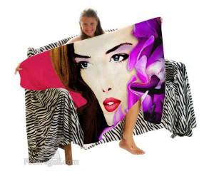 coperta personalizzata pop art