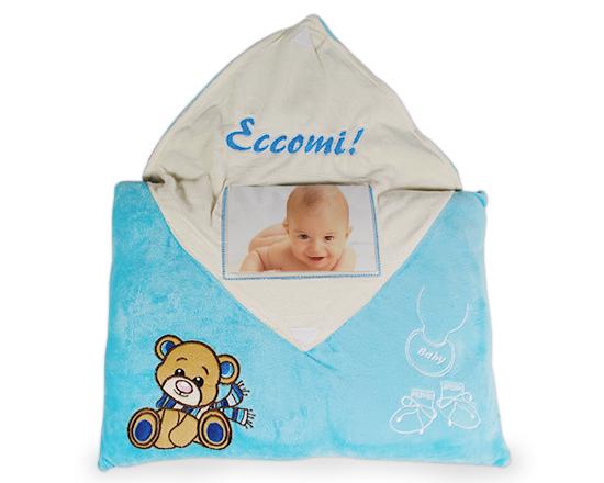 cuscino nascita per maschietto da stampare