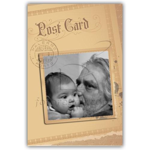 Stampa su biglietto auguri nonno