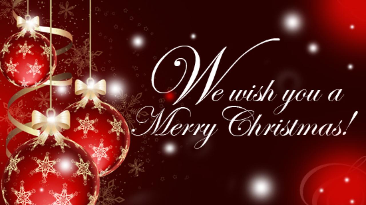 We wish you a Merry Christmas - Buon Natale