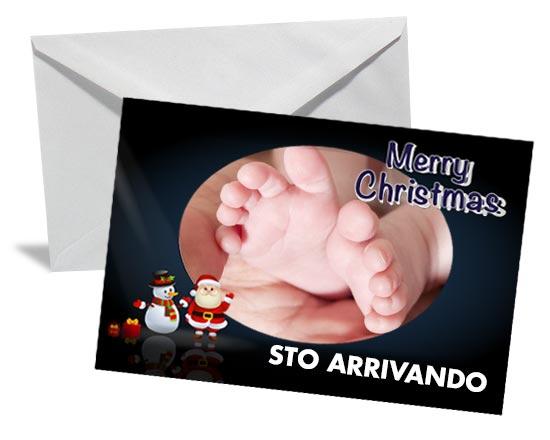 cartoline di Natale per gravidanza