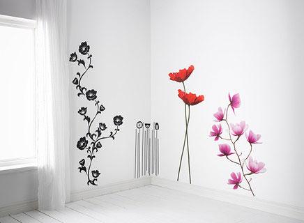 Le migliori soluzioni decorative per le pareti - Stencil per parete ...