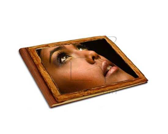 foto su album in legno