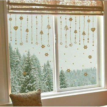 Addobbi natalizi x finestre